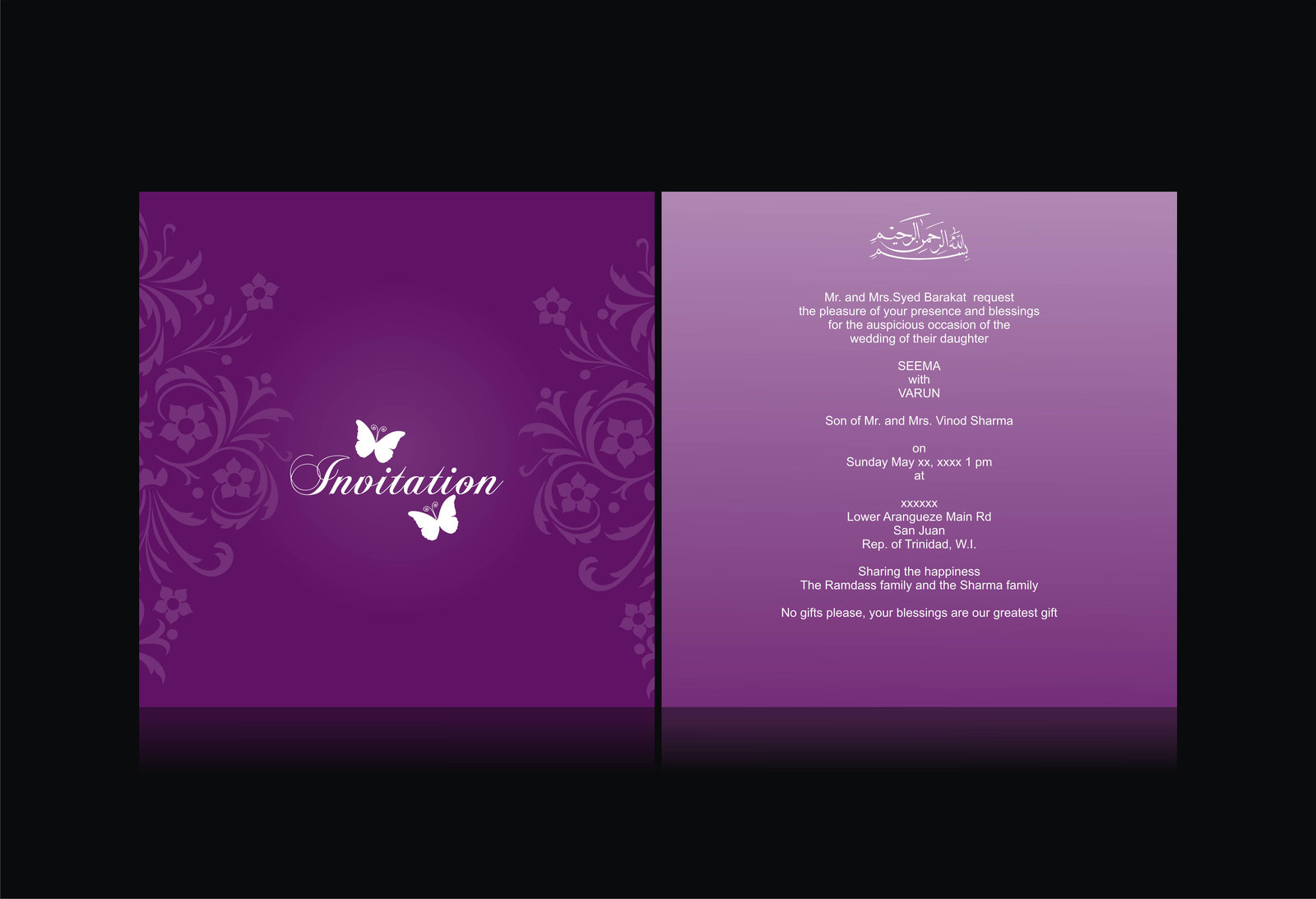 Marriage Invitation Card Priydharma Publication